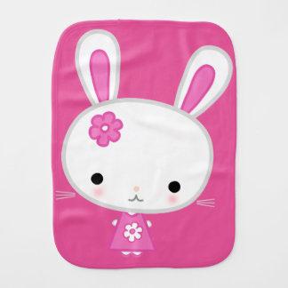 Cute Pink Kawaii Bunny Burb Cloth For Girls