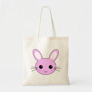 Cute Pink Kawaii Bunny Rabbit