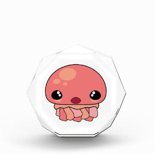 Cute Pink Kawaii Jellyfish Character Awards