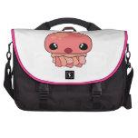Cute Pink Kawaii Jellyfish Character Computer Bag
