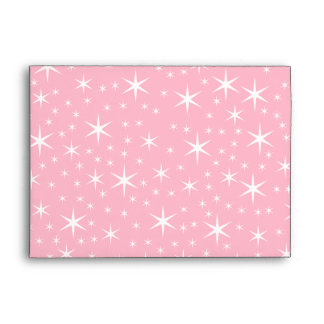 Cute Pink Kitten in a Christmas Hat Envelope