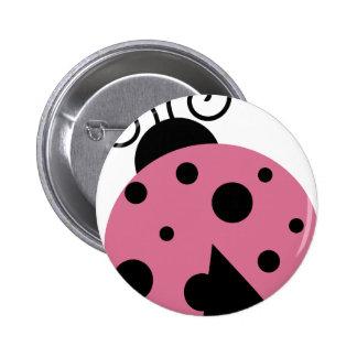 Cute Pink Ladybug Pins