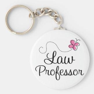 Cute Pink Law Professor Keychain