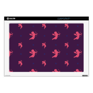 "Cute pink little Amor Design 17"" Laptop Decals"