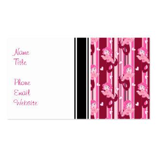 Cute Pink Mermaid pattern Business Card