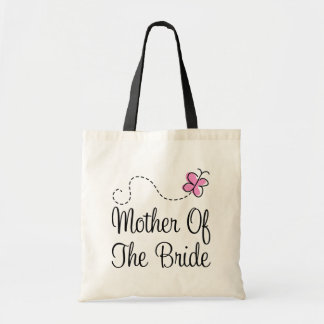 Cute Pink Mother Of The Bride Gift Tote Bag