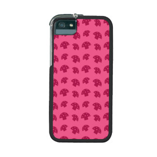 Cute pink mushroom pattern case for iPhone 5