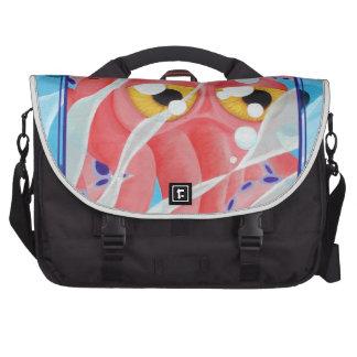 Cute Pink Octopus Painting Laptop Computer Bag