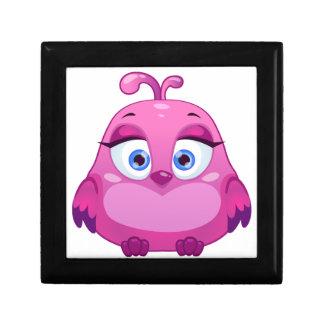 Cute pink Owl bird Gift Box
