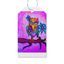 Cute Pink Owl Gift Tags