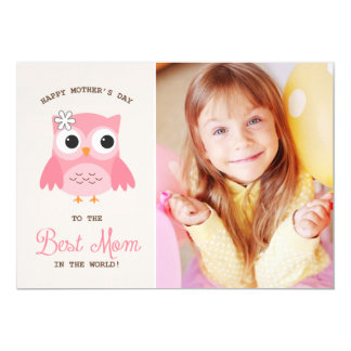 """Cute Pink Owl 