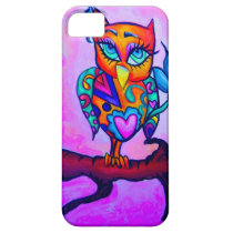 Cute Pink Owl iPhone SE/5/5s Case