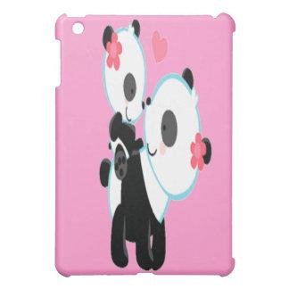 Cute Pink Panda Love Ipad Case