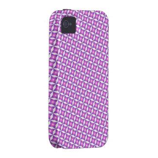 Cute Pink Pattern iPhone 4 Case