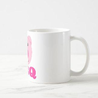 Cute Pink Pig BBQ Mugs