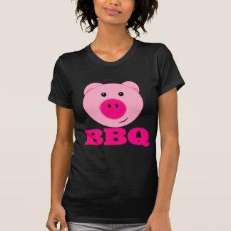 Cute Pink Pig BBQ Tshirts