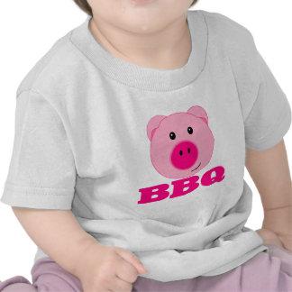 Cute Pink Pig BBQ Tshirt