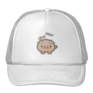 Cute Pink Pig Oink Trucker Hat