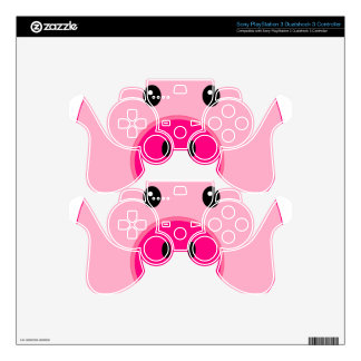 Cute Pink Pig PS3 Controller Decal