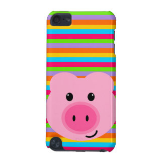 Cute Pink Pig Rainbow iPod Touch Case
