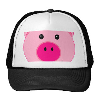 Cute Pink Pig Trucker Hat