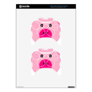 Cute Pink Pig Xbox 360 Controller Decal
