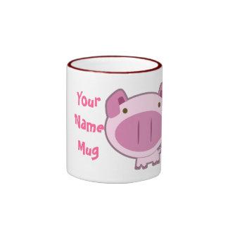 CUTE PINK PIGGY MUG