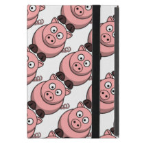 Cute Pink Piglet Cartoon Pattern Case For iPad Mini