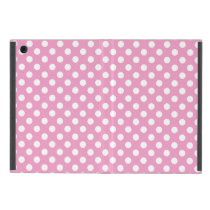 Cute Pink Polka Dots Pattern Case For iPad Mini