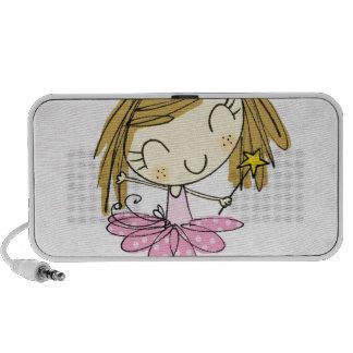 Cute Pink Princess Ballet girl Travel Speaker