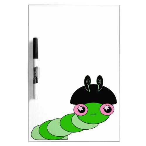 Cute Pink Princess Caterpillar Dry-Erase Boards