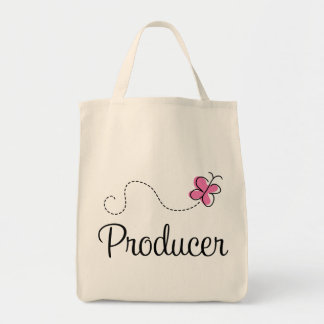 Cute Pink Producer Tote Bag