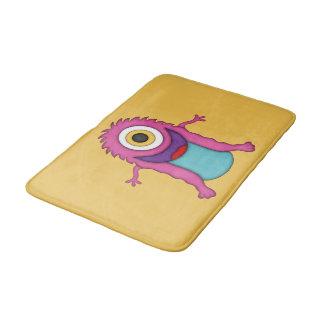 Cute Pink/Purple Monster-Kids Bath Mats