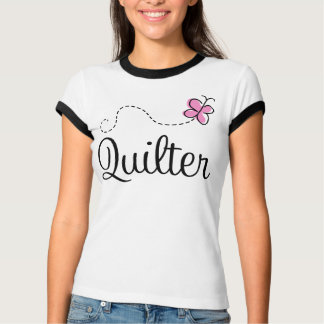 Cute Pink Quilter Gift Tshirt