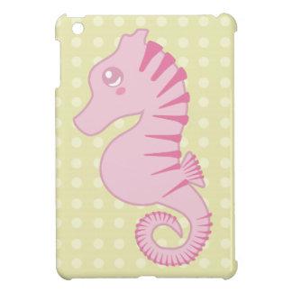 Cute Pink Seahorse iPad Mini Case