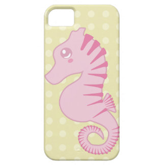 Cute Pink Seahorse iPhone SE/5/5s Case