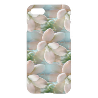 Cute Pink Sedum Succulent Jelly Bean Leaves iPhone 8/7 Case