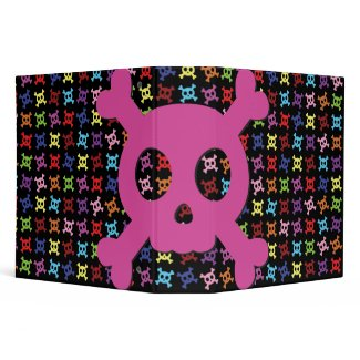Cute Pink Skull School 2