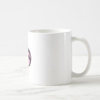 cute pink sloth face coffee mug