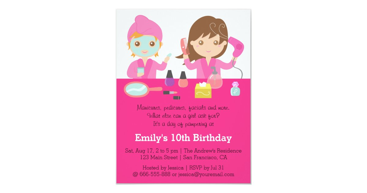 Makeup Party Invitations & Announcements | Zazzle