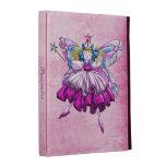 Cute Pink Sugar Plum Fairies Jewels iPad Folio iPad Folio Covers