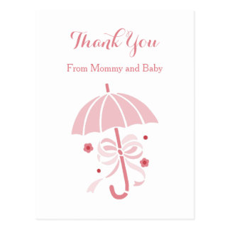 Baby Shower Thank You Postcards | Zazzle