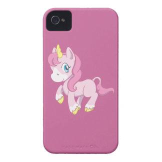 Cute Pink Unicorn Case-Mate iPhone 4 Case