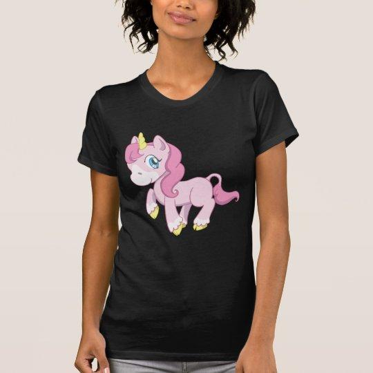 Cute Pink Unicorn T-Shirt