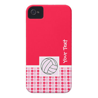 Cute Pink Volleyball iPhone 4 Covers