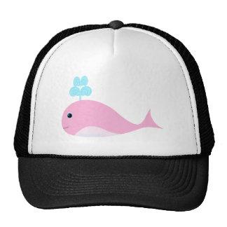 Cute Pink Whale Trucker Hat