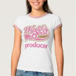 Cute Pink Worlds Best Producer Tshirts