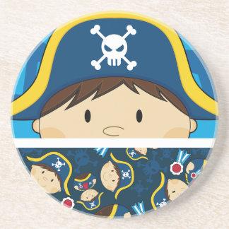 Cute Pirate Captain Coaster