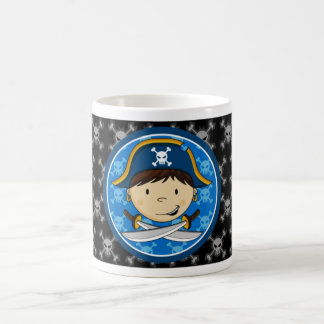 Cute Pirate Captain Coffee Mug