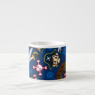 Cute Pirate Captain Expresso Cup